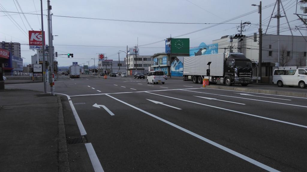 御経塚北交差点